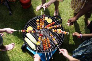 Neighborhood barbecue.