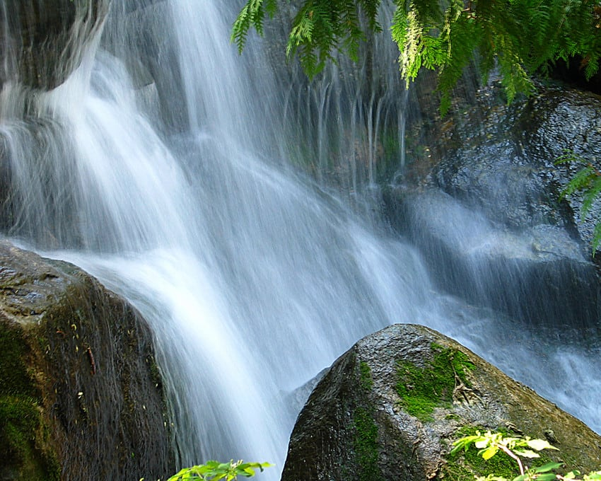 A water fall.