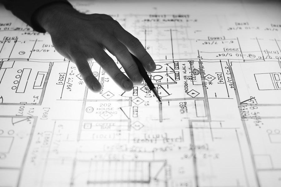 Fixer-upper home blueprints