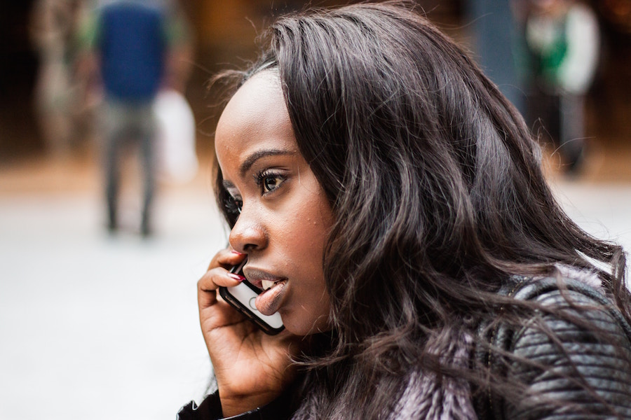 Woman on the phone, and other ways to stand out as a buyer